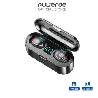 Tai Nghe Không Dây Pulierde AMOI F9 Bluetooth 5.0 Cảm Ứng Đa Nút Pin 2000mah 280h