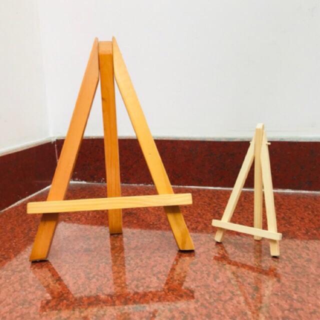 ART8S - Giá vẽ tranh gỗ thông mini GV3