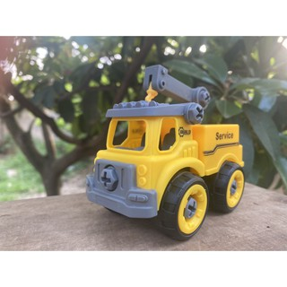 xe đồ chơi xây dựng lắp ghép. Nhựa ABS an toàn. Hàng đẹp không ọp ẹp. đồ chơi trẻ em sáng tạo rèn tư duy logic cho bé 6