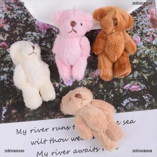 moon.vn Thú nhồi bông hình gấu mini 6cm nhiều màu dễ thương cho trẻ em ☀$