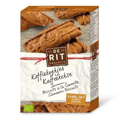 Bánh quy cà phê vị quế hữu cơ De rit 165g (date 08/2019)