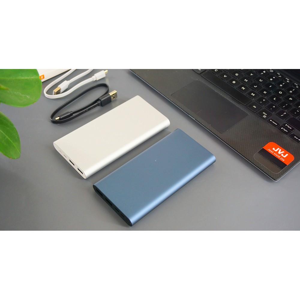 Sạc dự phòng Xiaomi/Redmi 10000mAh/20000mAh Gen 3 Bản Sạc Nhanh 2019 – Mi 18W Fast Charge Power Bank chính hãng