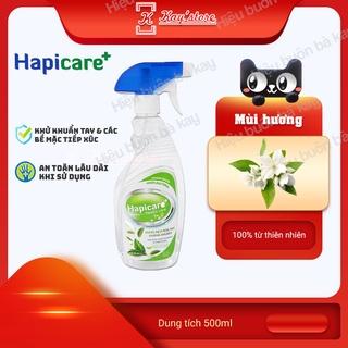 [HOA LÀI] Chai xịt khuẩn HapiCare+ (500ml) Dung dịch rửa tay sát khuẩn Nước khử khuẩn Xịt rửa tay khô thumbnail