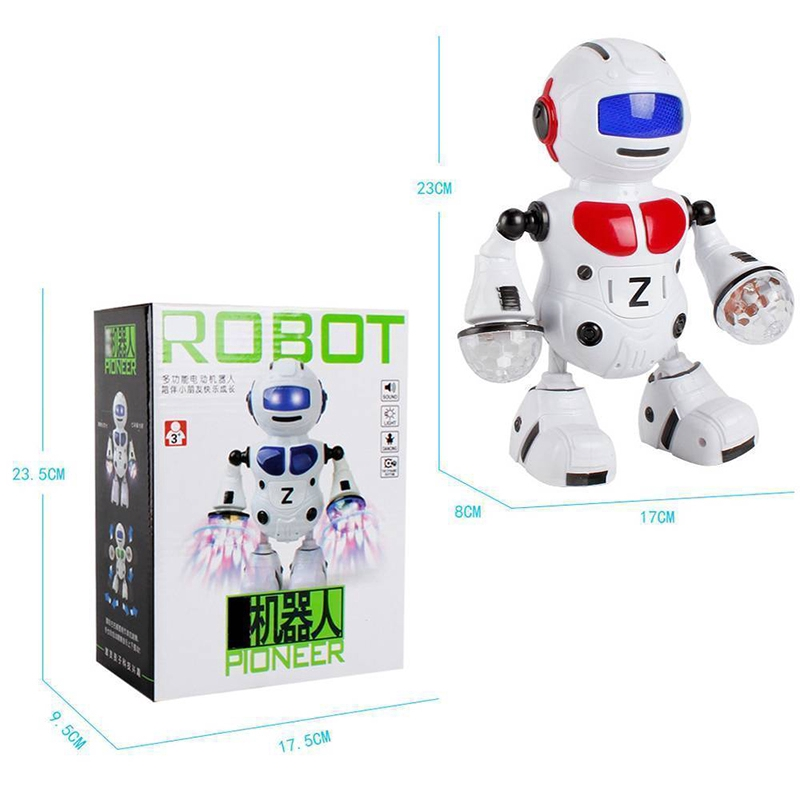 Smart Space Dance Robot Walking Toys With Music Light Astronaut Toys