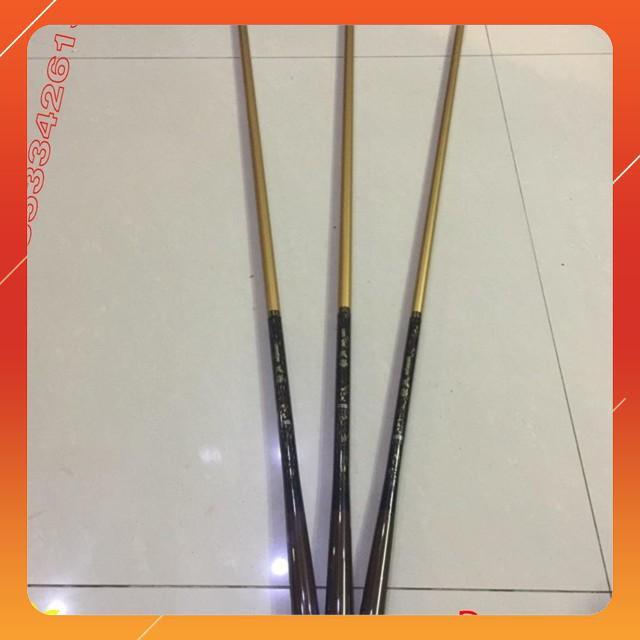 Cần tay carbon ánh kim 3,6 m đến 6,3 m  ( rẻ vô địch ) chuẩn