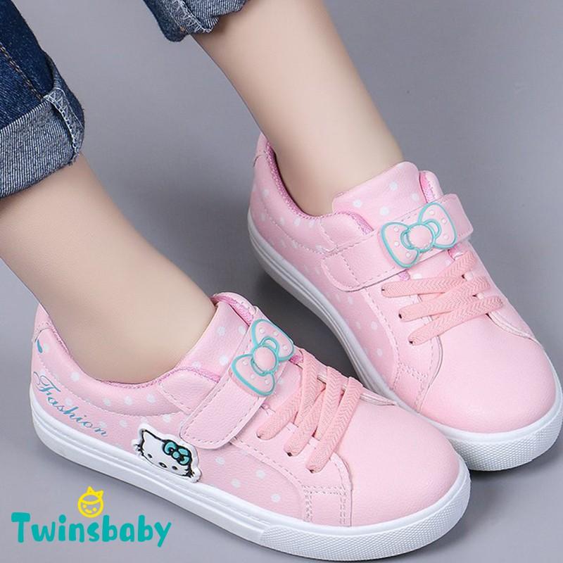 Giày thể thao in họa tiết hoạt hình đáng yêu dành cho các bé