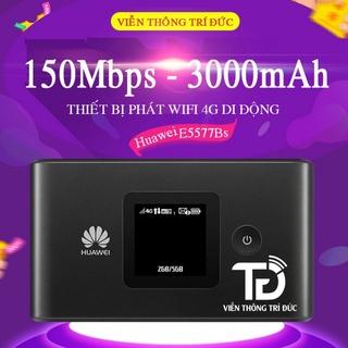 Bộ Phát Wifi 4G Huawei E5577BS-937 – Pin 3000mAh, Tốc độ dữ liệu 150Mbps Kết nối 16 thiết bị, Thiết bị wifi 4G di động