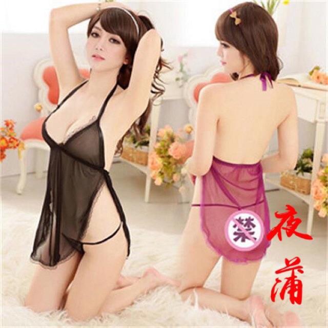 Váy ngủ 2 dây xuyên thấu kèm quần lọt khe gợi cảm - S134 - Có sẵn - 3486261 , 732901933 , 322_732901933 , 40000 , Vay-ngu-2-day-xuyen-thau-kem-quan-lot-khe-goi-cam-S134-Co-san-322_732901933 , shopee.vn , Váy ngủ 2 dây xuyên thấu kèm quần lọt khe gợi cảm - S134 - Có sẵn