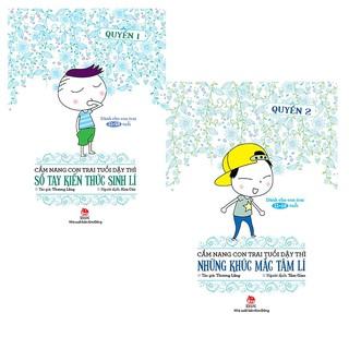 Combo Cẩm Nang Con Trai Tuổi Dậy Thì (trọn bộ 2 cuốn)