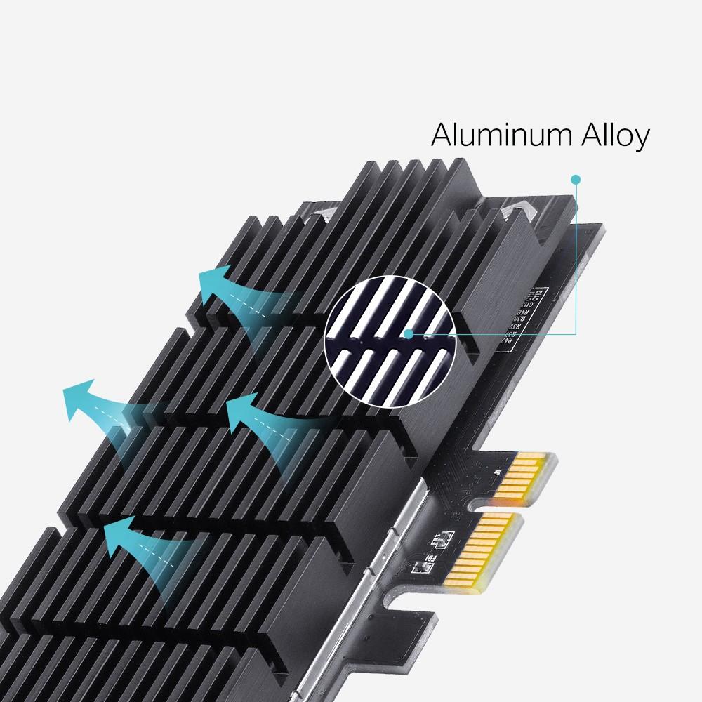Bộ chuyển đổi PCI Express băng tần kép Wi-Fi AC1300 Archer T6E-Bảo hành 24 T