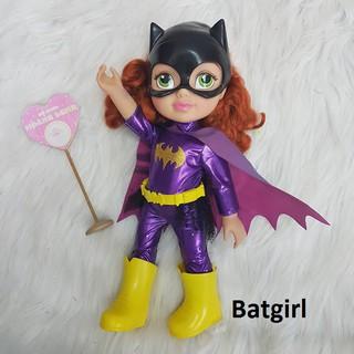Thanh lý tồn kho Búp bê siêu anh hùng phiên bản Nhí -DC Super Hero Girls Toddler Dolls BAT GIRL Review 35cm(14inch)