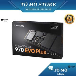 Ổ cứng SSD M.2 PCIe NVMe Samsung 970 EVO Plus 250GB - Bảo Hành 5 Năm