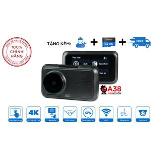 Camera Hành Trình Webvision A38(Tặng thẻ 64gb) Siêu Cảnh Báo Giao Thông Ghi Hình Trước Sau-bảo hành 2 năm thumbnail