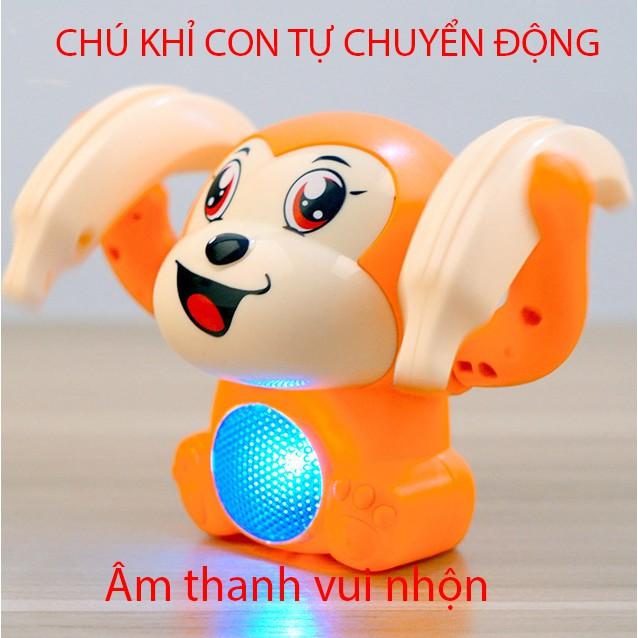 Đồ chơi trẻ em, đồ chơi điện tử, đồ chơi theo nhạc, hình chú khỉ vui nhộn