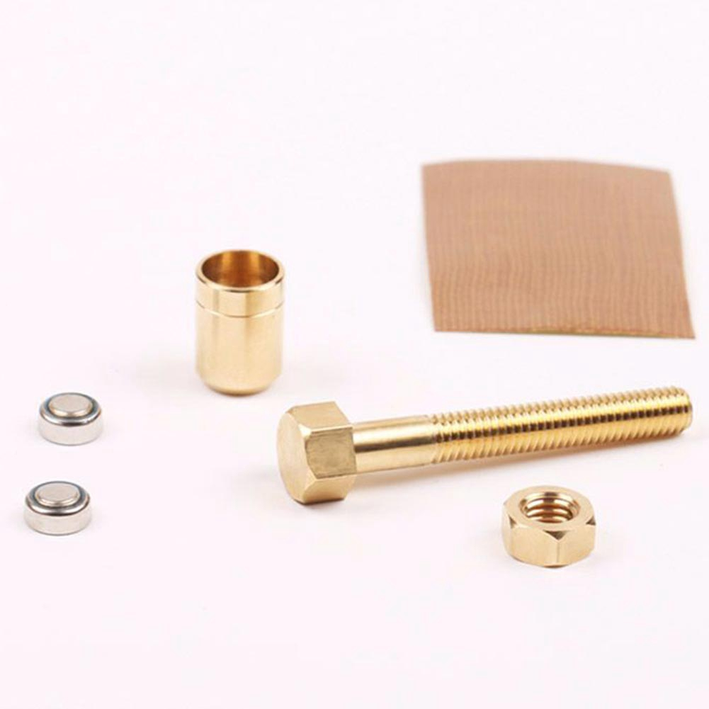 Close Up Tricks Props Performance Rotating Bolt Mind Screw Empty-handed Magic Nut