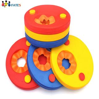 6Pcs EVA Foam Swim Discs, Kids Swimming Arm Bands, Baby Floating Sleeves Buoyancy Circles Rings