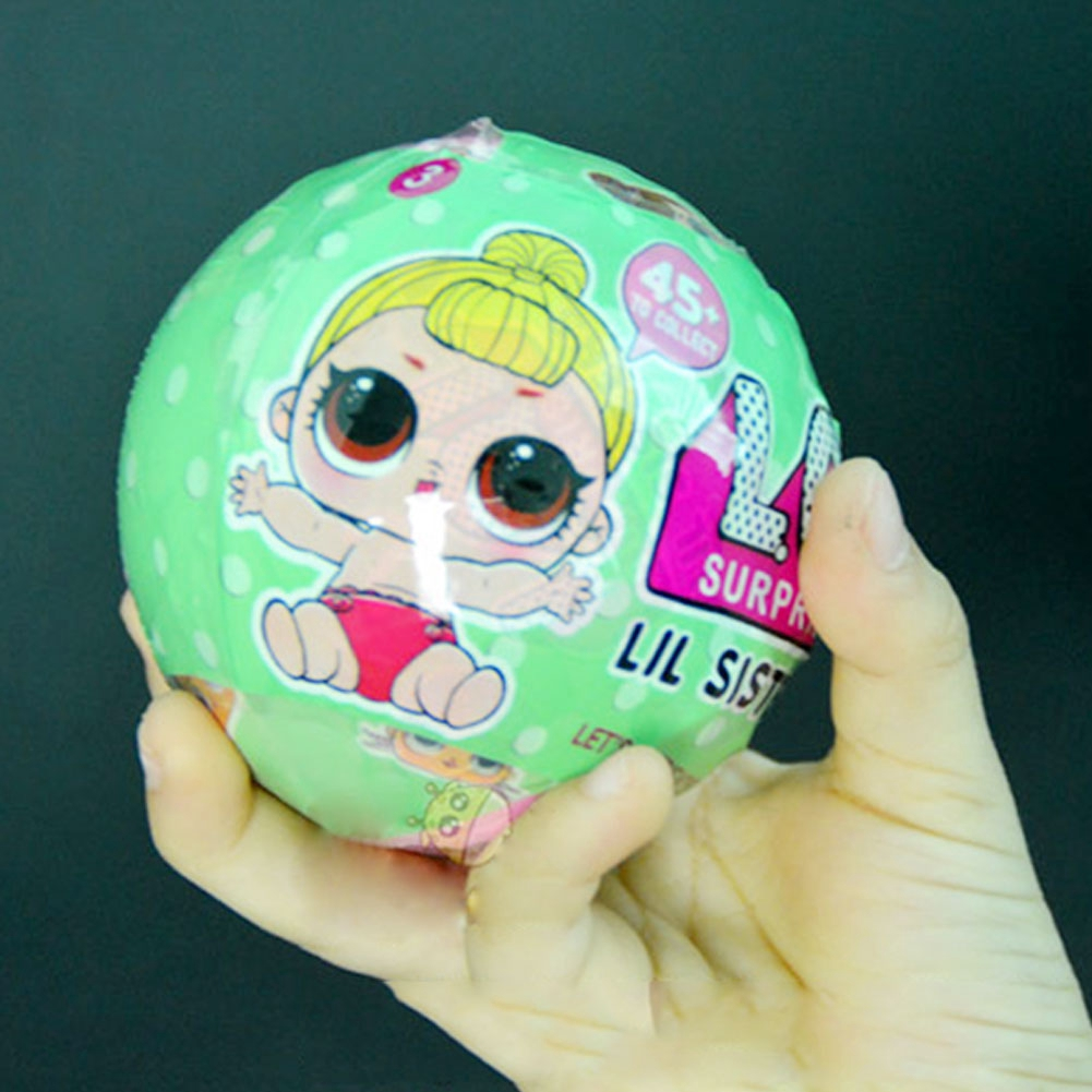 LOL SURPRISE DOLL surprise doll ball Barbie off the egg dress up