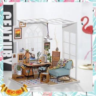 [Hàng Đẹp] Đồ chơi lắp ráp gỗ 3D Mô hình Nhà DIY Doll House SOHO Kèm Đèn LED (hàng ord 3-5 ngày)