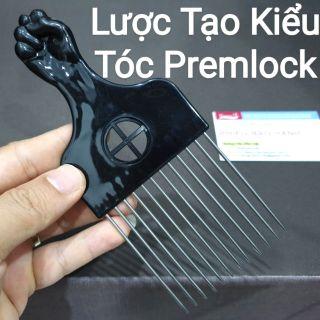 Lược Premlock, Lược Chải Tóc Tạo Kiểu Premlock, Lược Thép Làm Tóc Châu Phi.(Ảnh thật) thumbnail