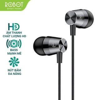 Tai Nghe Có Dây ROBOT RE101S - Jack cắm 3.5mm - Âm Thanh Sắc Nét