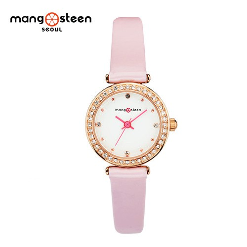 Đồng hồ nữ MS513D MANGOSTEEN SEOUL Hàn Quốc dây da (Hồng) : cao cấp : Chất lượng Đồng hồ nữ MS513D MANGOSTEEN SEOUL Hàn Quốc dây da (Hồng) : cao cấp : Chất lượng
