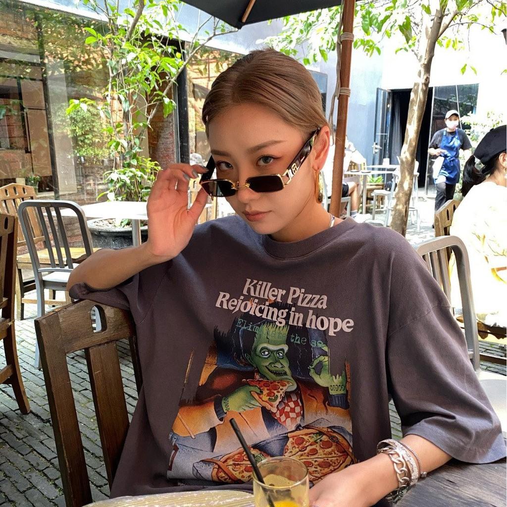 Kính mắt thời trang GM KrisWu hot - có khuyên - Tặng Hộp + khăn lau