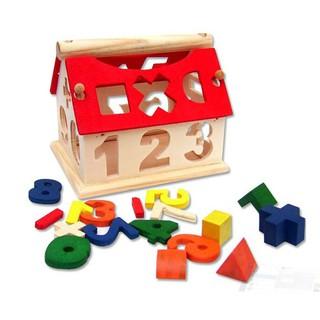 [FOLLOW SHOP 9K – 13H, 08/04 ] Ngôi nhà thả hình lắp ghép bằng gỗ mini
