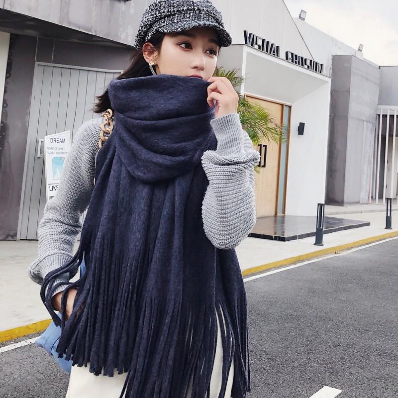 Khăn choàng cổ dệt kim dáng dài phong cách Hàn Quốc thời trang cho nữ - 14786468 , 2766409362 , 322_2766409362 , 346500 , Khan-choang-co-det-kim-dang-dai-phong-cach-Han-Quoc-thoi-trang-cho-nu-322_2766409362 , shopee.vn , Khăn choàng cổ dệt kim dáng dài phong cách Hàn Quốc thời trang cho nữ