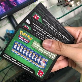 Mã code game Pokemon TCG online Unbroken Bonds x100