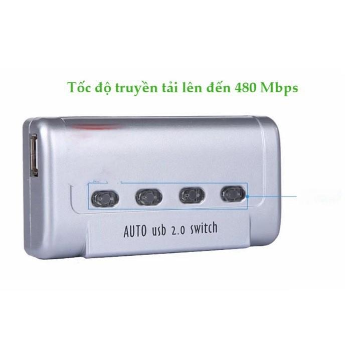 Bộ kết nối 4 máy tính với 1 máy in MT-Viki MT-SW241-CH