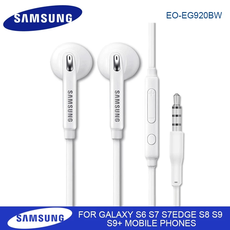 Tai Nghe Nhét Tai Eg920 Có Mic Cho Galaxy A70 A50 Note 8 9 S6 S7 Edge
