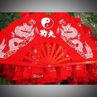 [Hàng Cao cấp] quạt dưỡng sinh quạt Kungfu quạt võ thuật 1 cái tay phải