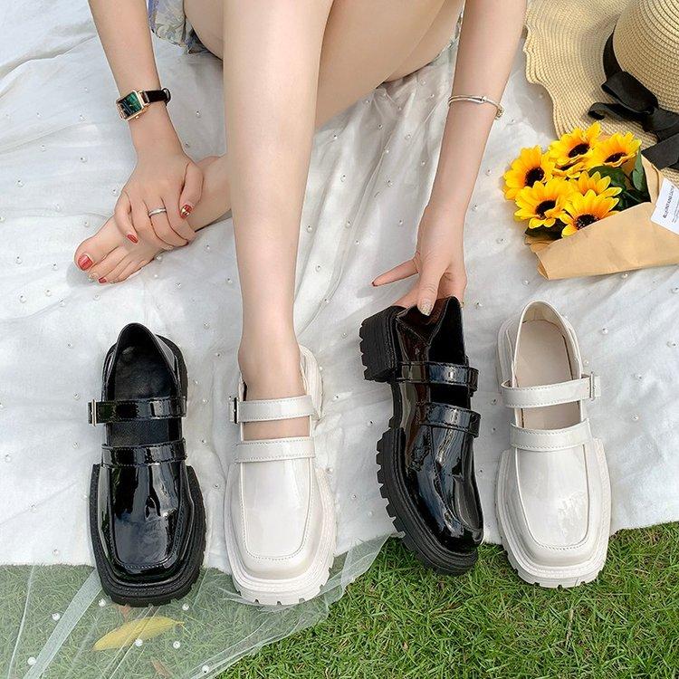 Giày Cao Gót Mũi Tròn Thời Trang Cho Nữ