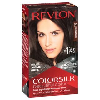 Thuốc nhuộm thảo dược phủ bạc Revlon 20 nâu đen