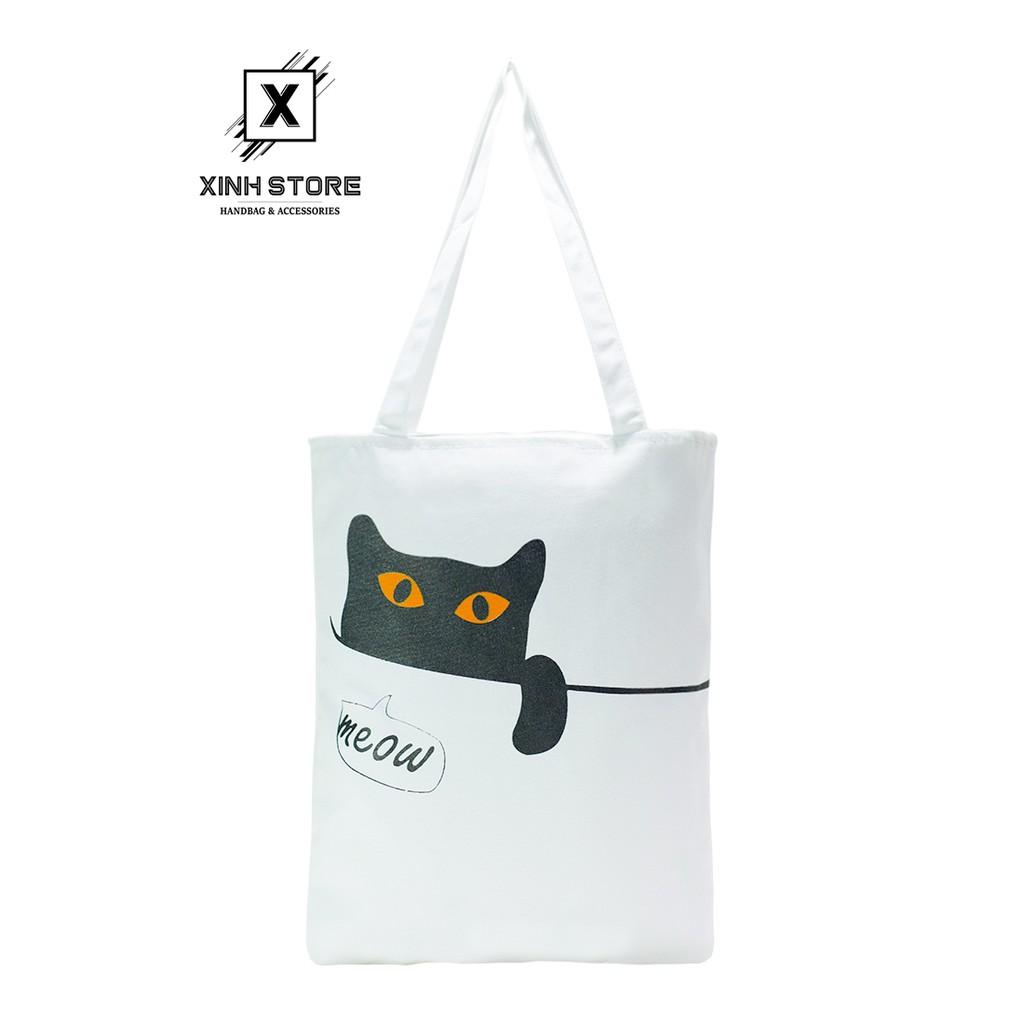 Túi Vải Đeo Vai Tote Bag XinhStore