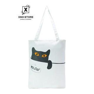 Túi Vải Đeo Vai Tote Bag XinhStore thumbnail
