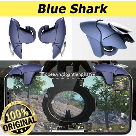 Nút bắn PUBG chính hãng Blue Shark, bộ 2 nút chơi game