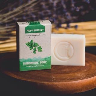 (4.2022) Xà phòng handmade Green Garden bạc hà (peppermint) thumbnail