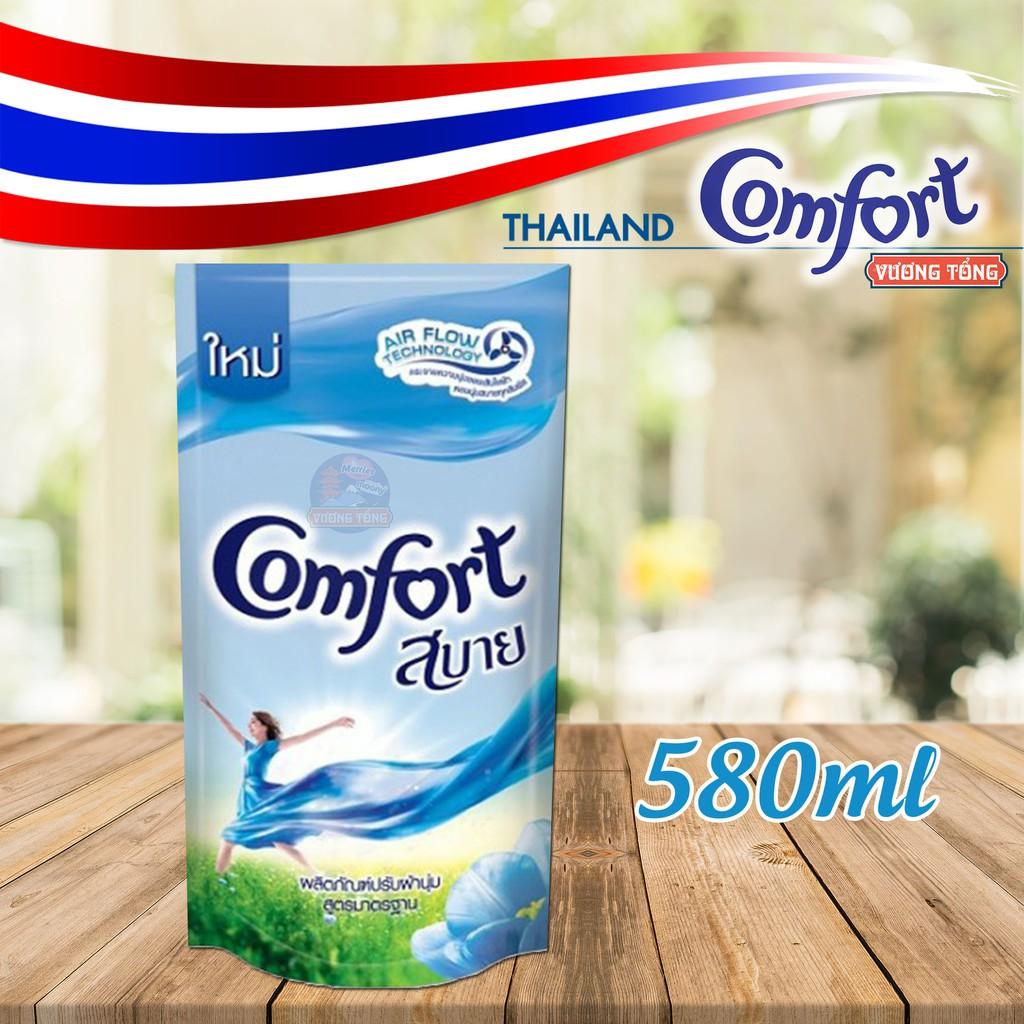 Nước xả vải Comfort Thái gói 580ml Chọn màu
