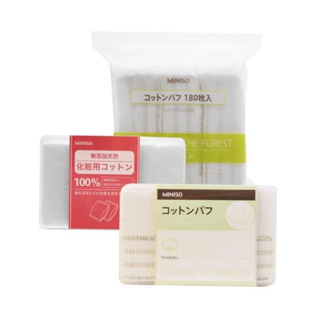 Bông tẩy trang MINISO 1000/800/150 miếng Nhật Bản - 3261448 , 455439516 , 322_455439516 , 90000 , Bong-tay-trang-MINISO-1000-800-150-mieng-Nhat-Ban-322_455439516 , shopee.vn , Bông tẩy trang MINISO 1000/800/150 miếng Nhật Bản