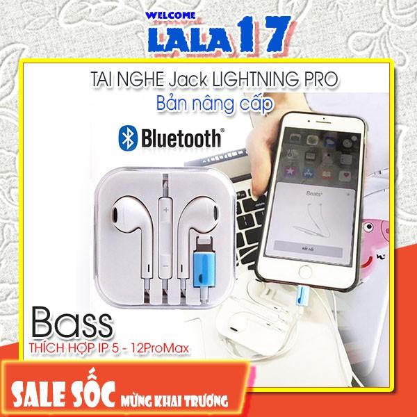 Tai Nghe Cổng Lightning Hiển Thị Cửa Sổ Tự Kết Nối Bluetooth, Giành Cho ip7 đến 12proMax - lala17