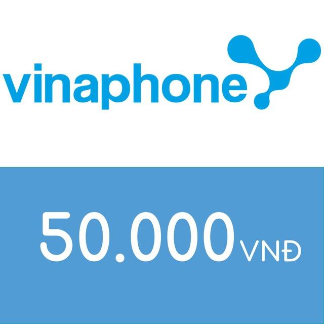Mã thẻ điện thoại Vinaphone 50K