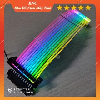 [Mã ELORDER5 giảm 10K đơn 20K] Dây Nguồn Nối Dài 24pin 8pin Led RGB Đồng Bộ Mainboard, Đồng Bộ Hub Coomoon RGB