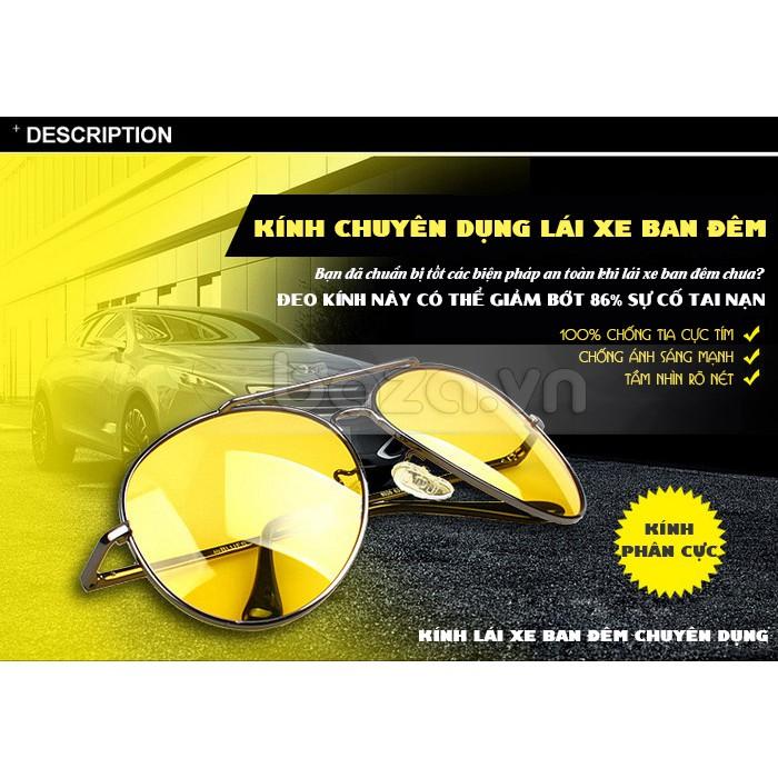 Kính nhìn xuyên đêm Night View, đi đường ban đêm chống lóa bảo vệ mắt (FULL BOX) - Độc và...