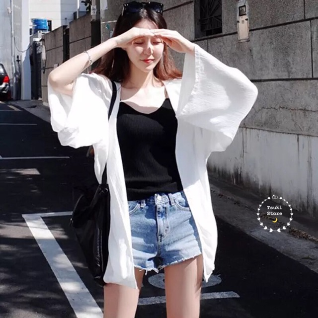 [SẴN] Áo kimono hè đi biển ?