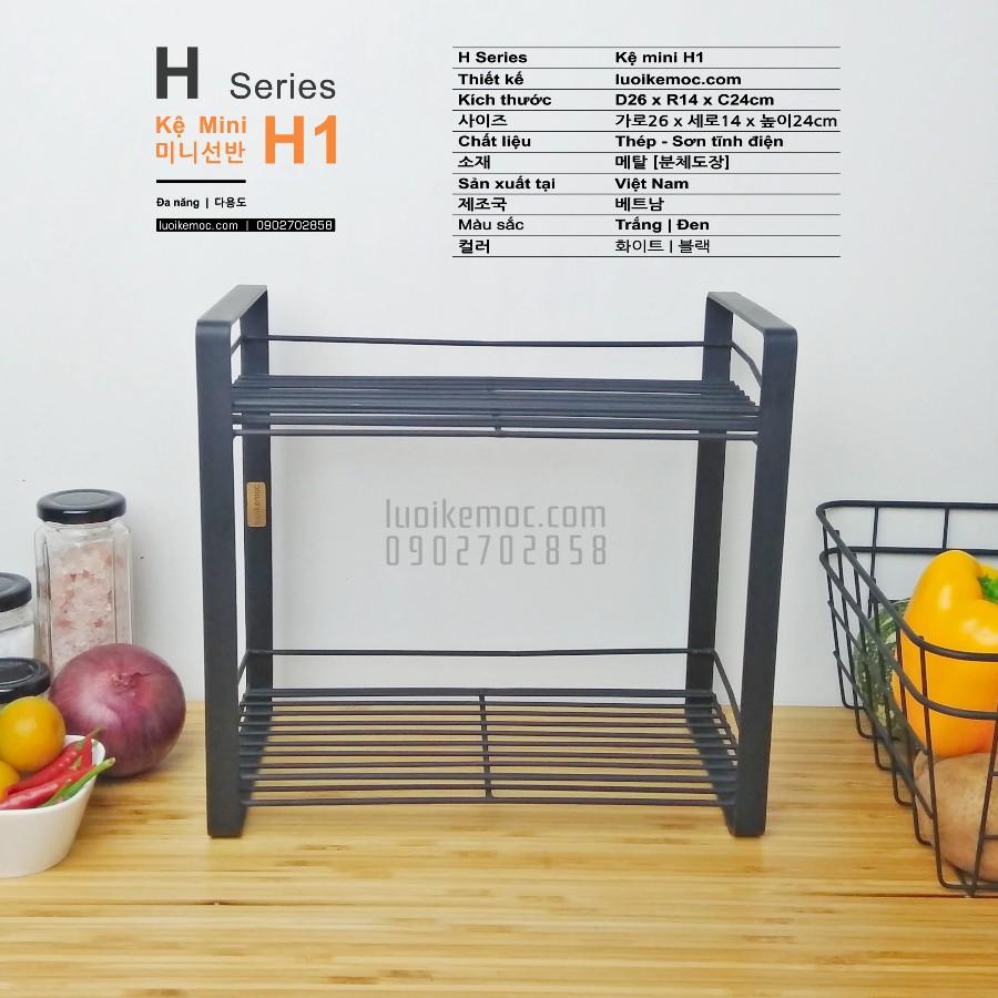 Kệ Để đồ Đa Năng - Kệ bếp - Kệ gia vị - Kệ Phòng tắm (Kệ H1)