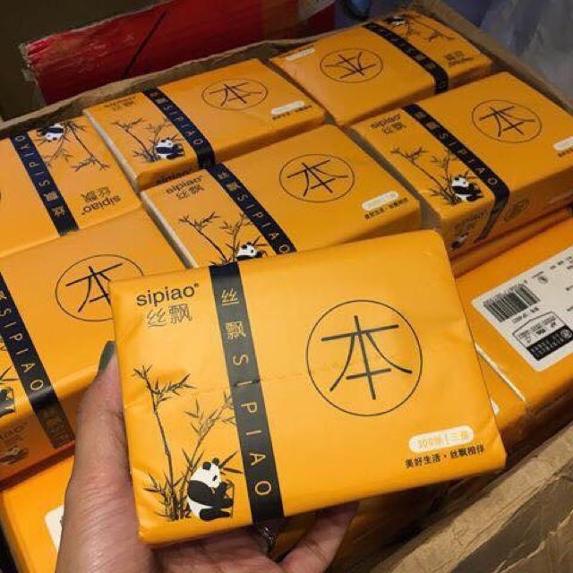 Gói giấy ăn gấu trúc bảo vệ sức khỏe 5k/1 gói( 300 tờ)
