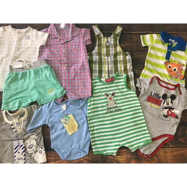 Sét quần áo bé trai sơ sinh