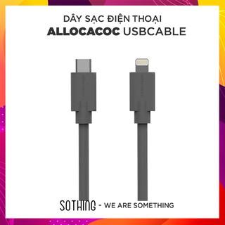 Cáp sạc Allocacoc CHÍNH HÃNG, CHỐNG RỐI Lightning / Micro USB/ Type C độ dài 1.5m