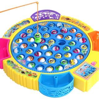 Bộ đồ chơi câu cá phát nhạc giúp bé phát triển tư duy , kích thích trí thông minh và sáng tạo cho bé